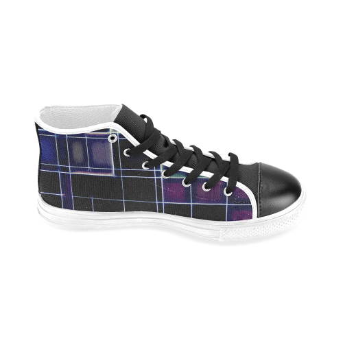 TechTile #1 - Jera Nour Men's Classic High Top Canvas Shoes (Model 017)