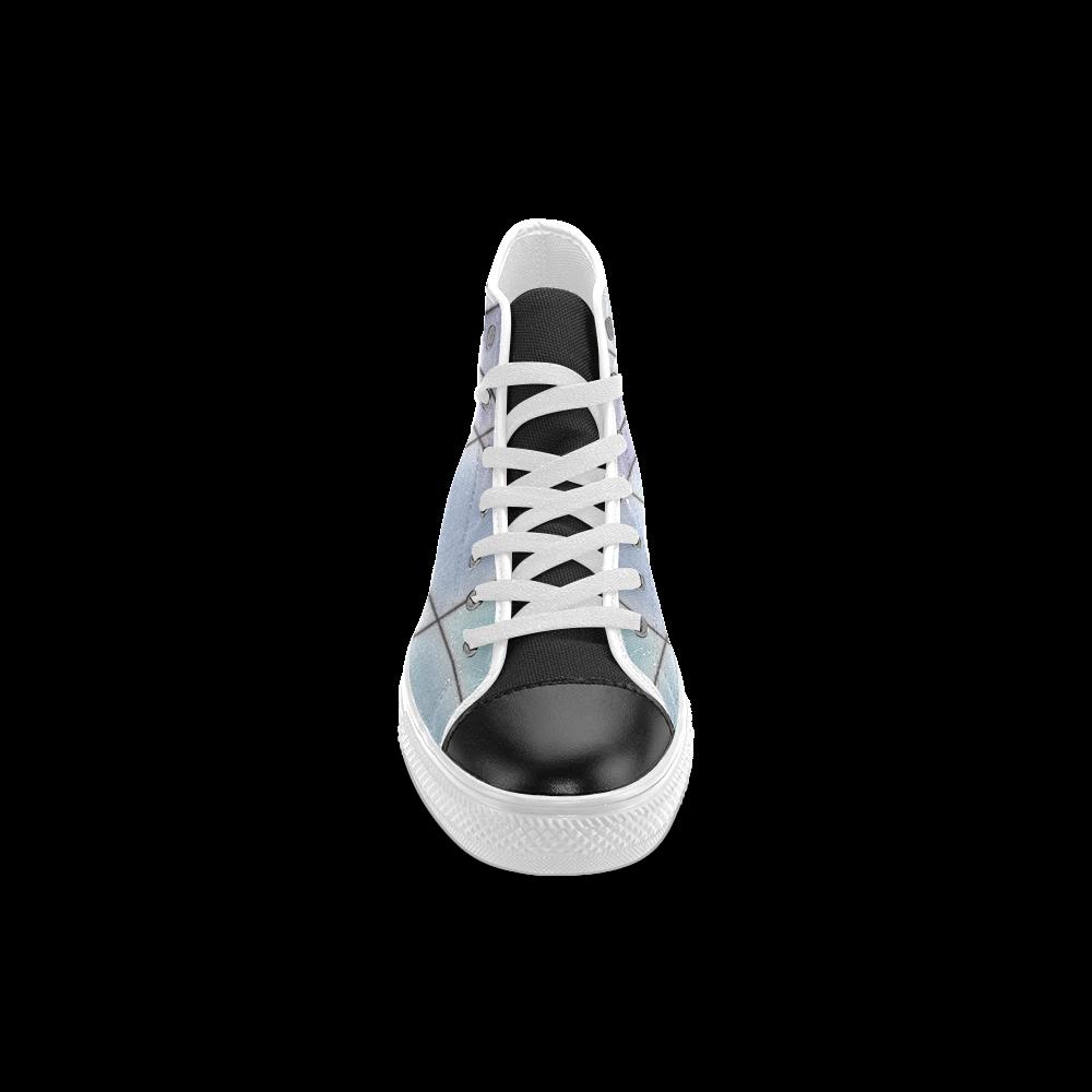 TechTile #1 - Jera Nour Men's Classic High Top Canvas Shoes (Model 017)