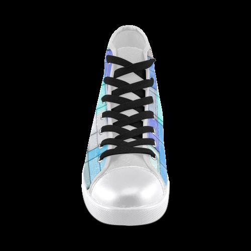 TechTile #2 - Jera Nour Men's High Top Canvas Shoes (Model 002)
