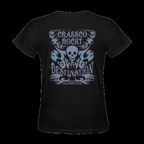 CRASSCO ROCKT Sunny Women's T-shirt (Model T05)