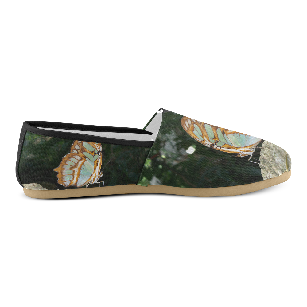 Tailed Jay Butterfly Unisex Casual Shoes (Model 004)