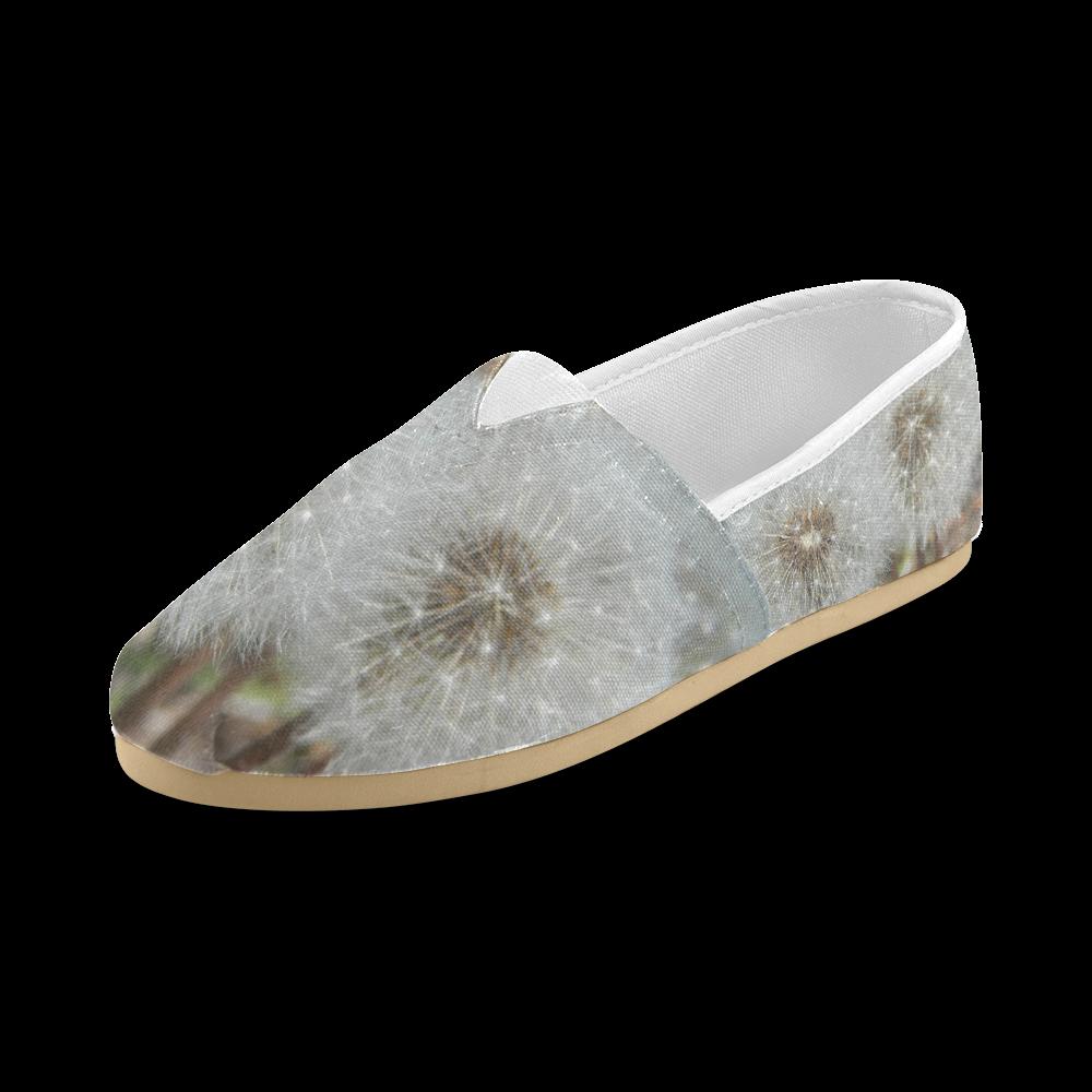 Dandelion Fluff Unisex Casual Shoes (Model 004)