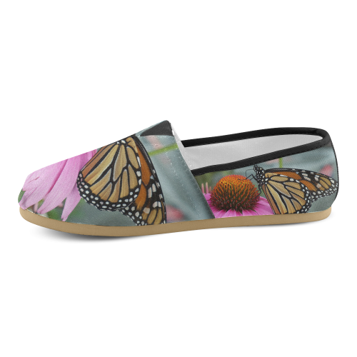 Monarch Butterfly Unisex Casual Shoes (Model 004)
