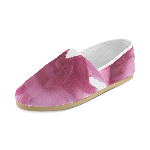 Painted in Pink Unisex Casual Shoes (Model 004)