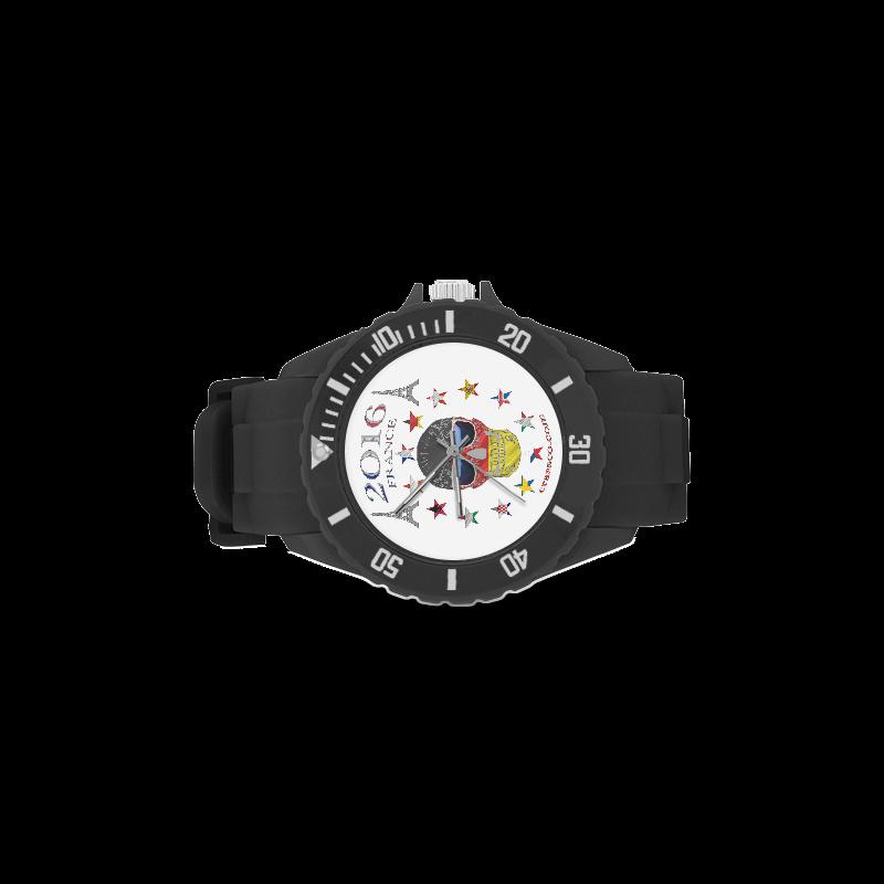 Football Championship Sport Rubber Strap Watch(Model 301)