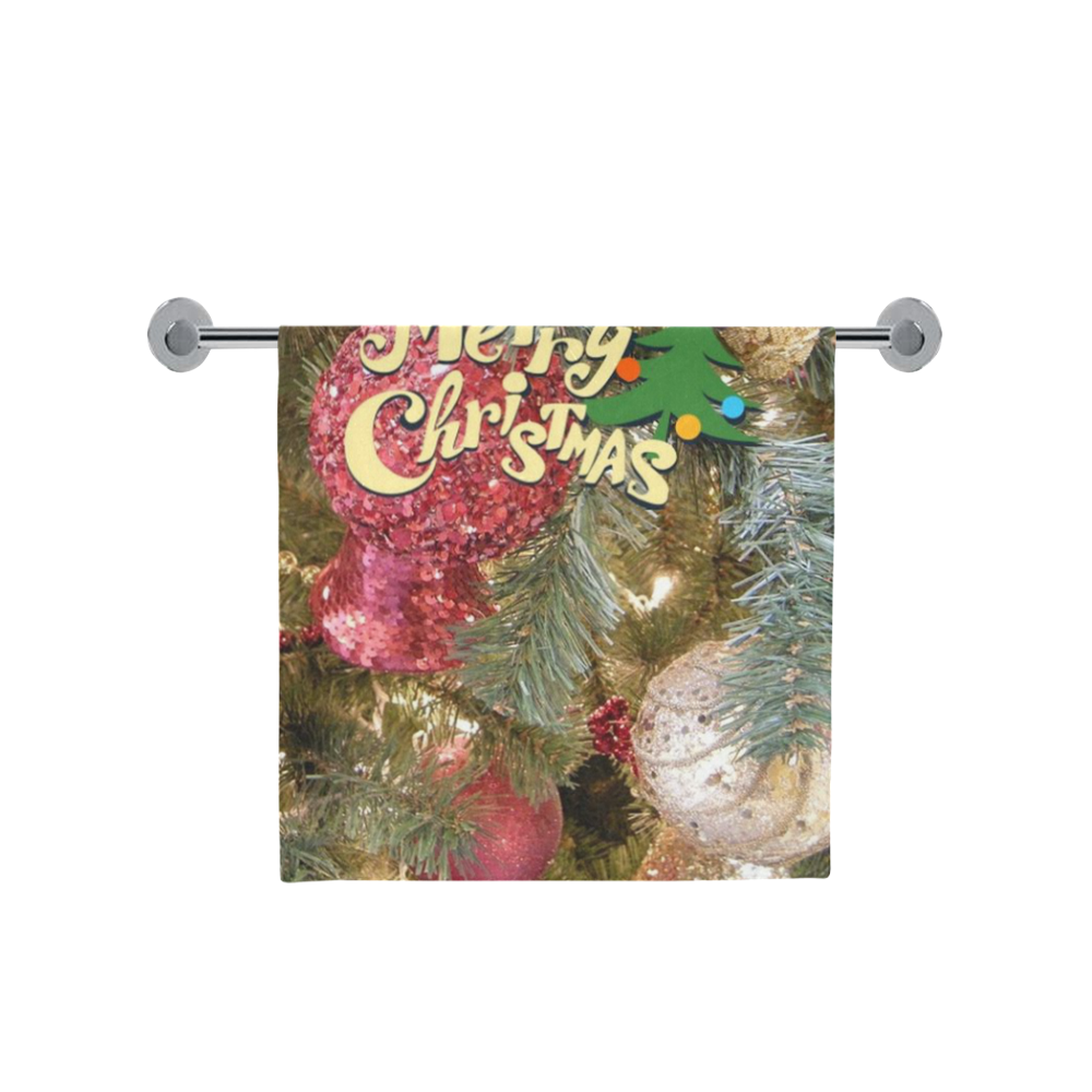 "merry christmas 5152 Bath Towel 30""x56"""