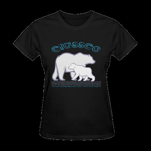 POLAR BEARS Sunny Women's T-shirt (Model T05)