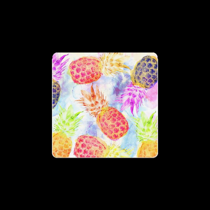Pineapples Square Coaster