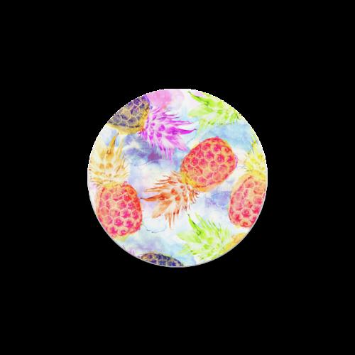Pineapples Round Coaster