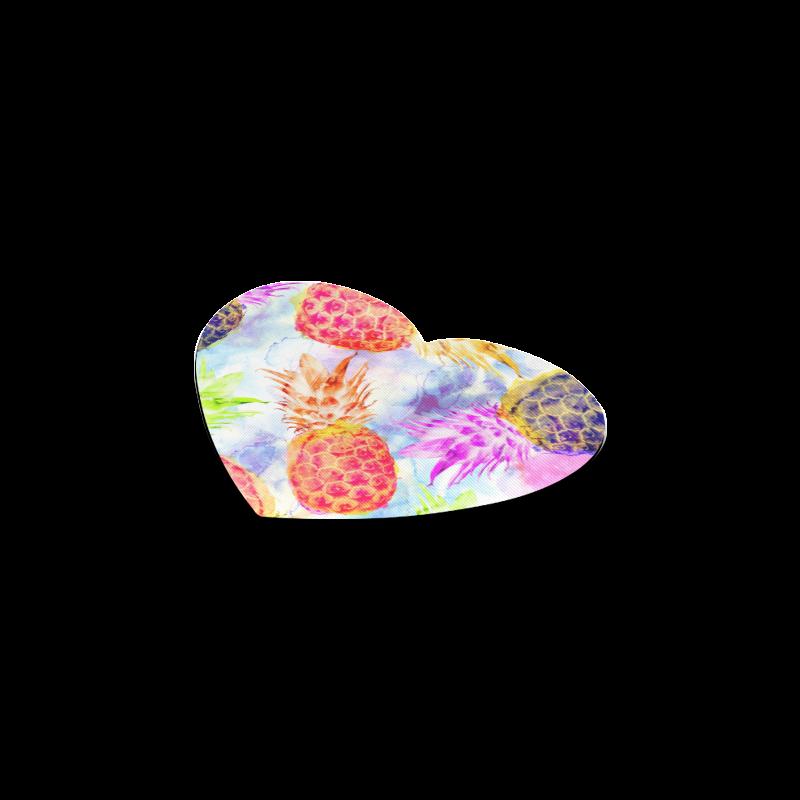 Pineapples Heart Coaster