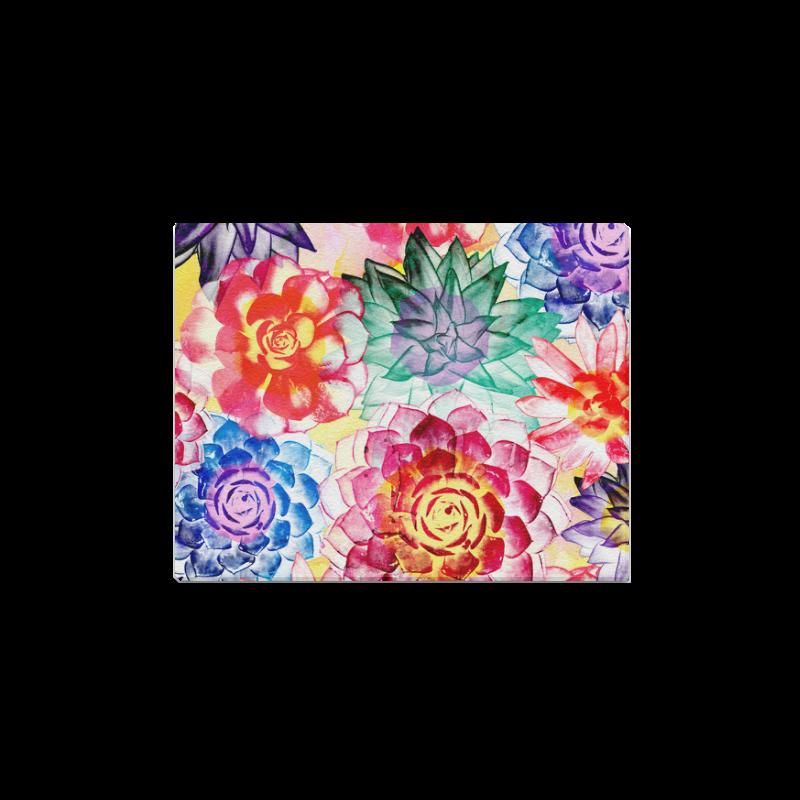 """Succulents Canvas Print 14""""x11"""""""