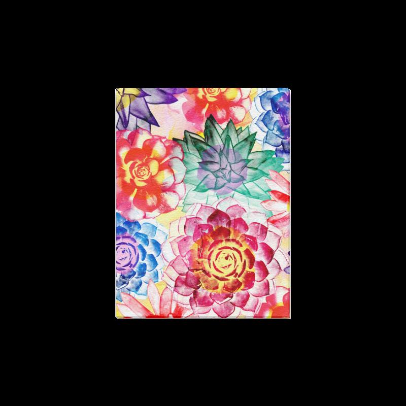 """Succulents Canvas Print 12""""x16"""""""