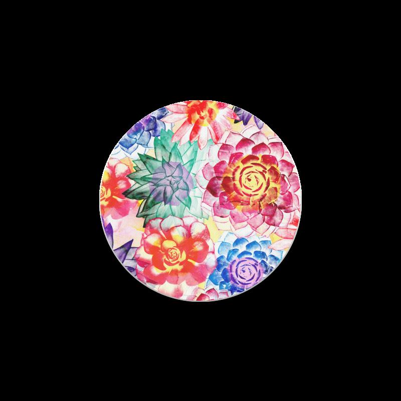 Succulents Round Coaster