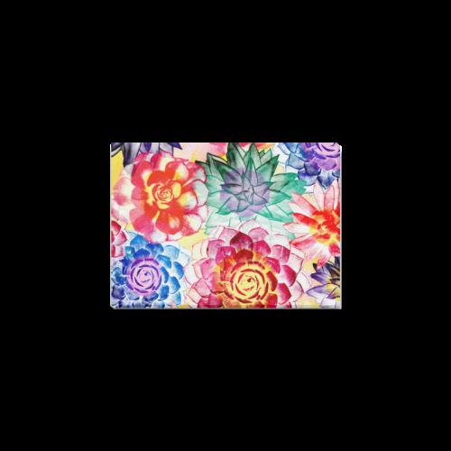 """Succulents Canvas Print 7""""x5"""""""