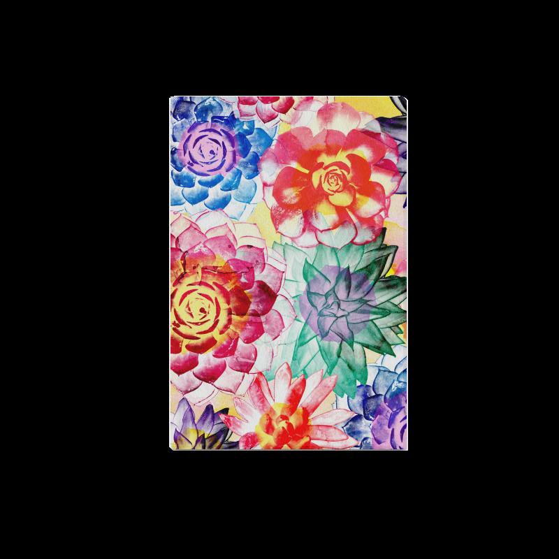 """Succulents Canvas Print 18""""x12"""""""