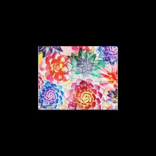 """Succulents Canvas Print 10""""x8"""""""