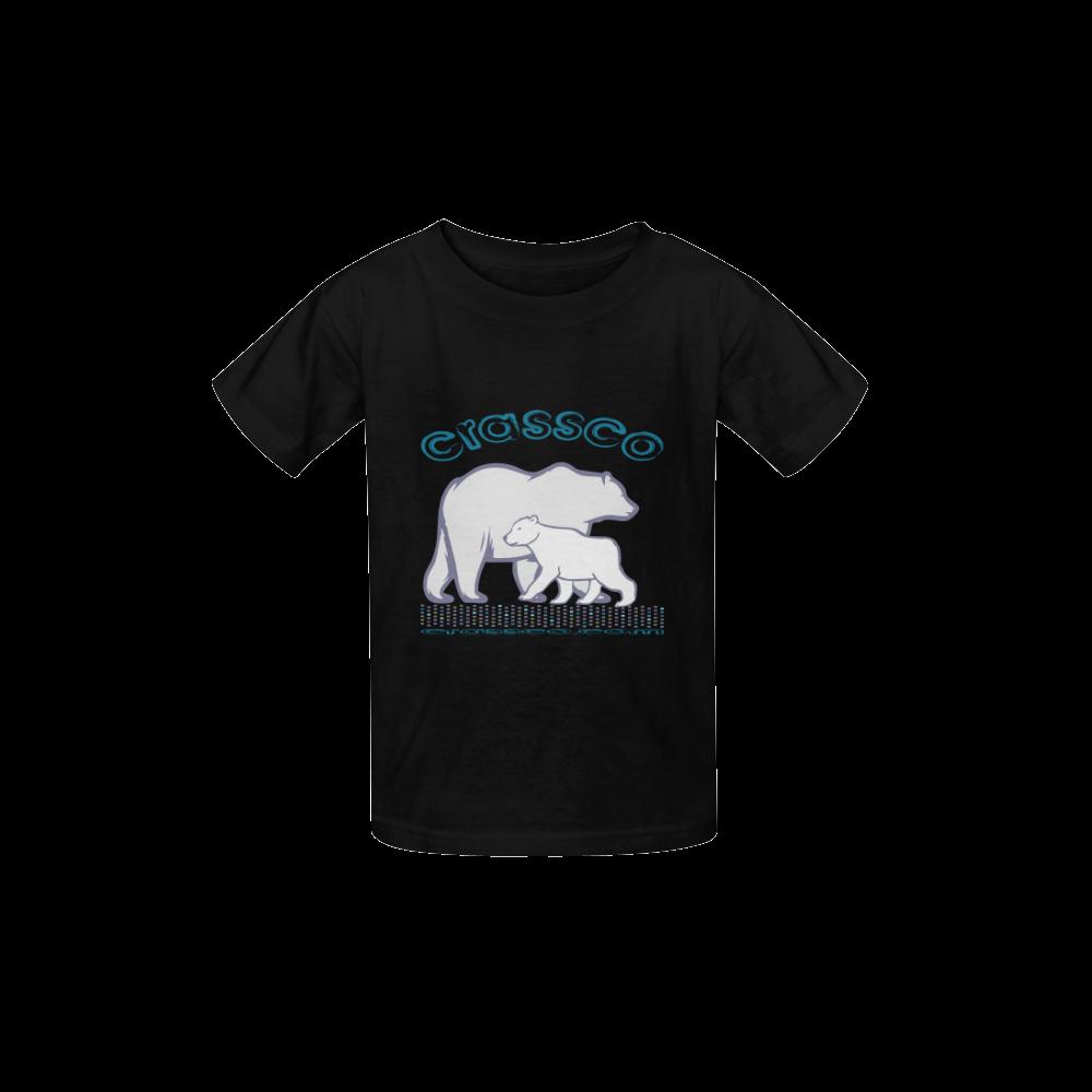 POLAR BEAR Kid's  Classic T-shirt (Model T22)