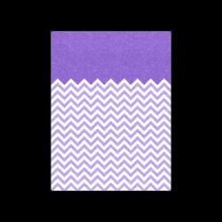 "HIPSTER zigzag chevron pattern white Blanket 50""x60"""