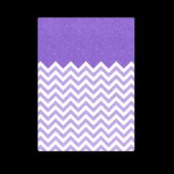 "HIPSTER zigzag chevron pattern white Blanket 58""x80"""