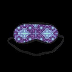 Purple blue pattern Sleeping Mask