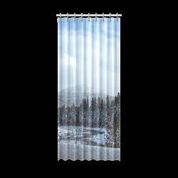 """Winter Wonderland Window Curtain 52"""" x 120""""(One Piece)"""