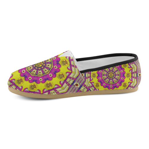 Celebrating summer in soul and mind mandala style Unisex Casual Shoes (Model 004)