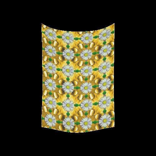 """Summer festive in green grass Cotton Linen Wall Tapestry 60""""x 40"""""""