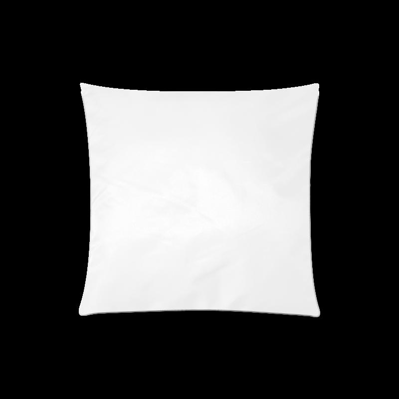 "Purple Flowers Custom Zippered Pillow Case 20""x20""(One Side)"