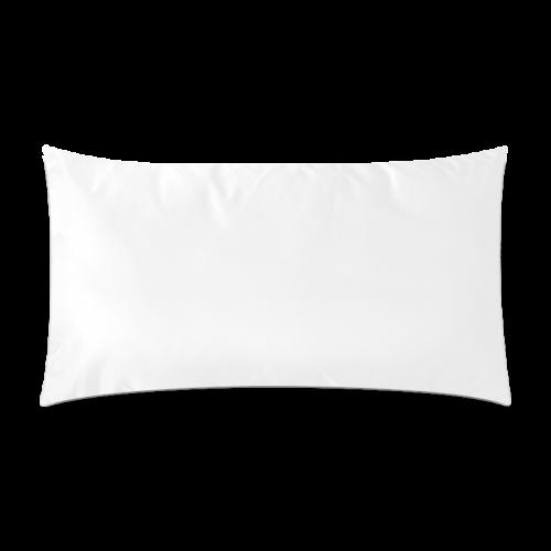"Purple Flowers Custom Rectangle Pillow Case 20""x36"" (one side)"