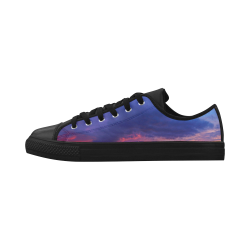 Evening's Face Aquila Microfiber Leather Men's Shoes (Model 028)