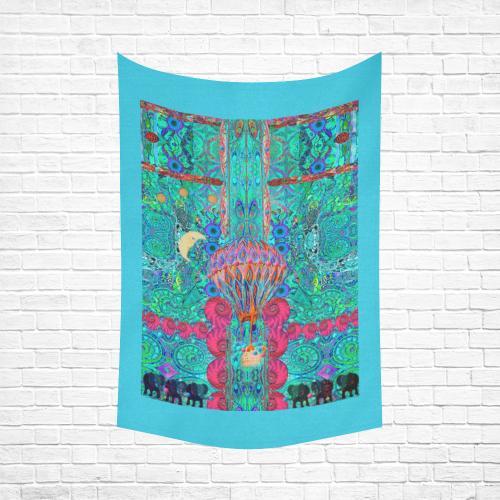 """aspirateur a reves Cotton Linen Wall Tapestry 60""""x 90"""""""