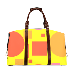 Colorful shapes Classic Travel Bag (Model 1643)