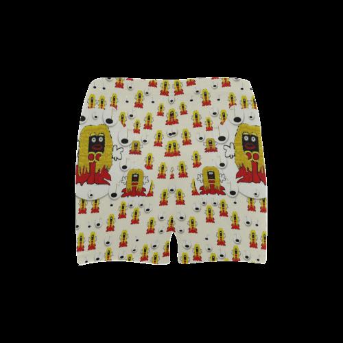 Jynx is singing Briseis Skinny Shorts (Model L04)