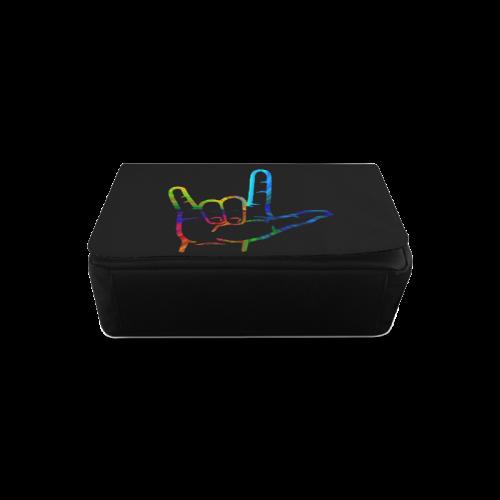 Rainbow Burst ASL I Love You Messenger Bag (Model 1628)