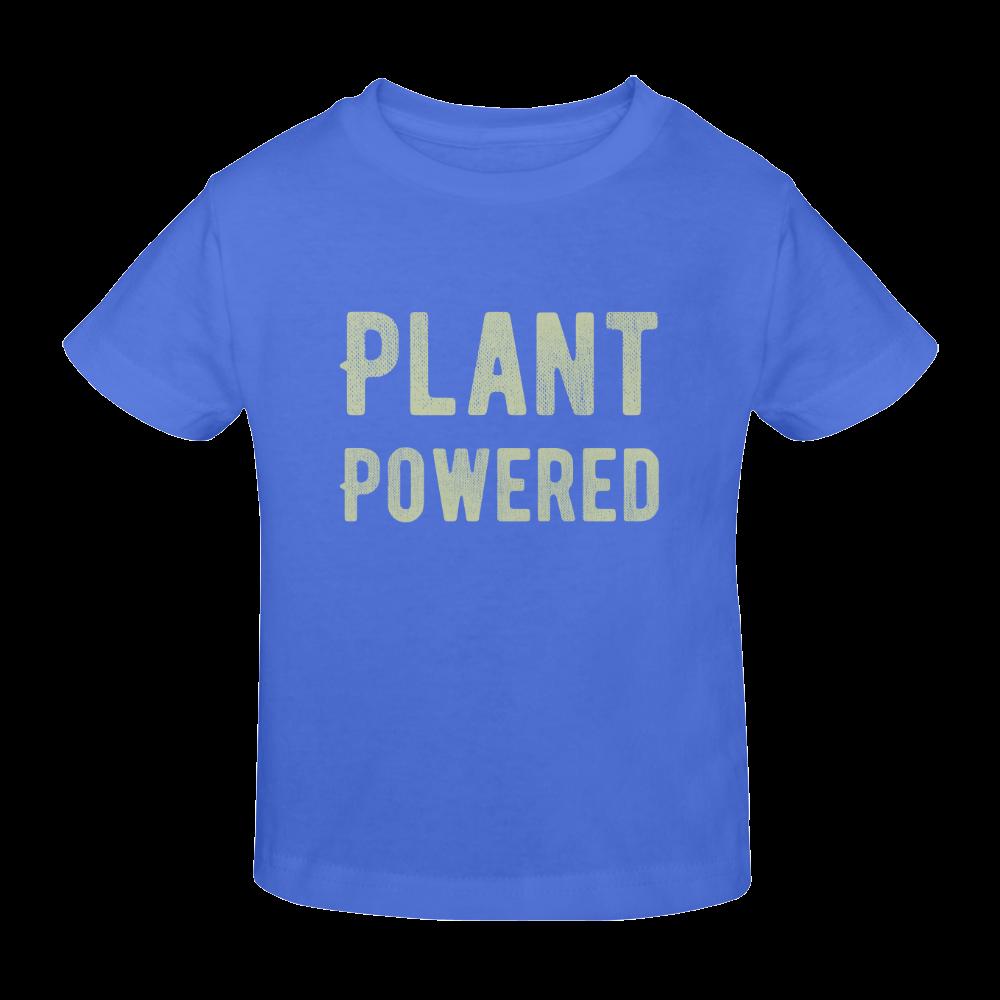 Vegan Plant Powered Think Green Veganism Sunny Youth T-shirt (Model T04)