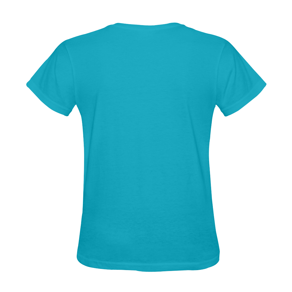 Vegan Go Cloverleaf Think Green Sunny Women's T-shirt (Model T05)