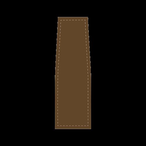 Light Pink Ribbon Saddle Bag/Large (Model 1649)