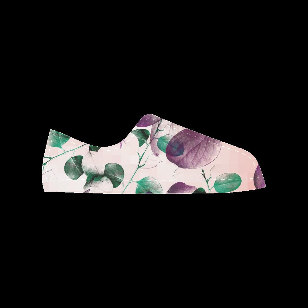 Eucalyptus Aquila Microfiber Leather Women's Shoes (Model 028)