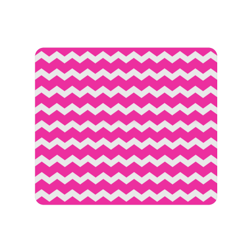Modern Trendy Pastel Grey Pink Zig Zag Pattern Chevron Men's Clutch Purse (Model 1638)