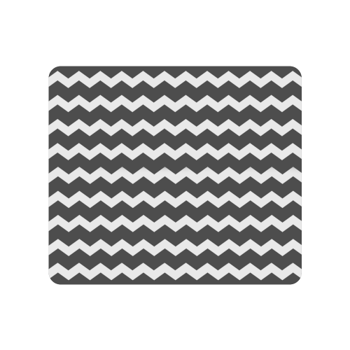 Modern Trendy Pastel Grey Black Zig Zag Pattern Chevron Men's Clutch Purse (Model 1638)