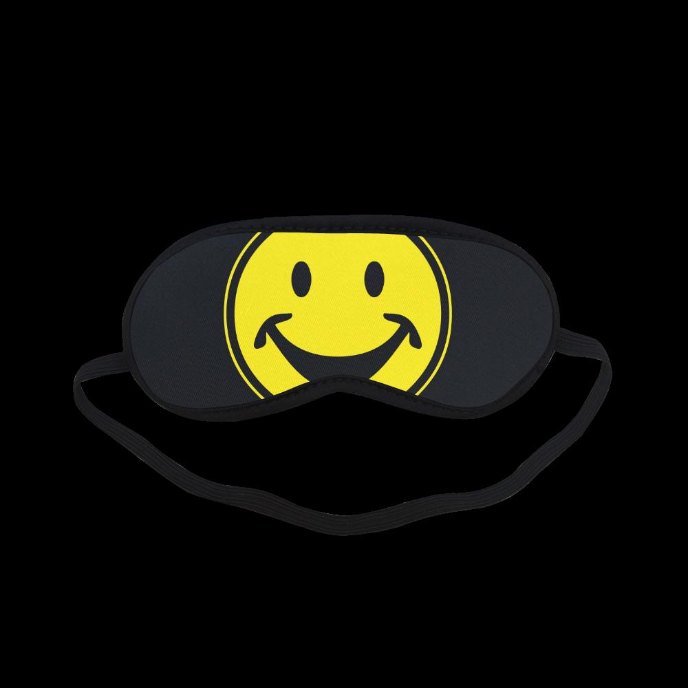 Funny yellow SMILEY for happy people Sleeping Mask