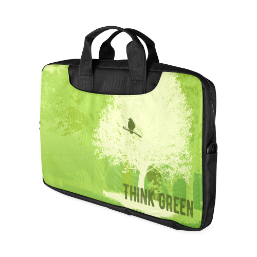 "Think Green Nature Save the Earth Vegan Macbook Air 15""(Two sides)"