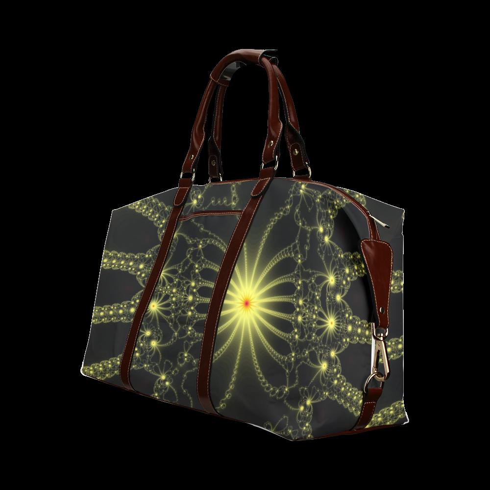Yellow Flower Explosion Classic Travel Bag (Model 1643)