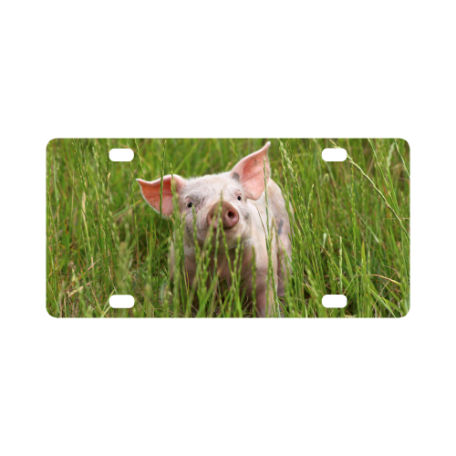 Piglet Pig Animal Farm Classic License Plate