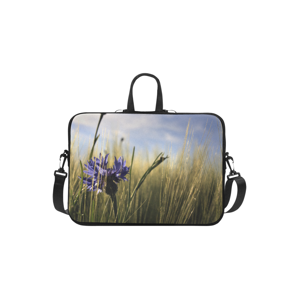Cornflower Bluebottle Wheat Field Summer Laptop Handbags 13""