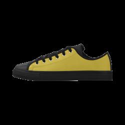 Antique Moss Aquila Microfiber Leather Women's Shoes (Model 028)