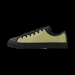 Moss Aquila Microfiber Leather Women's Shoes (Model 028)