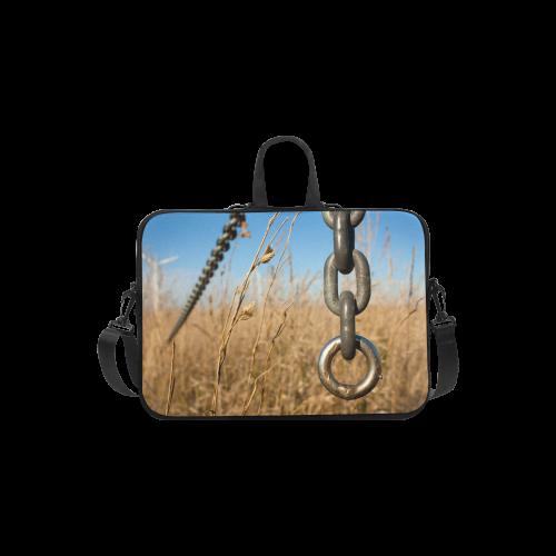 "Chain Warp Blue Sky Summer Laptop Handbags 13"""
