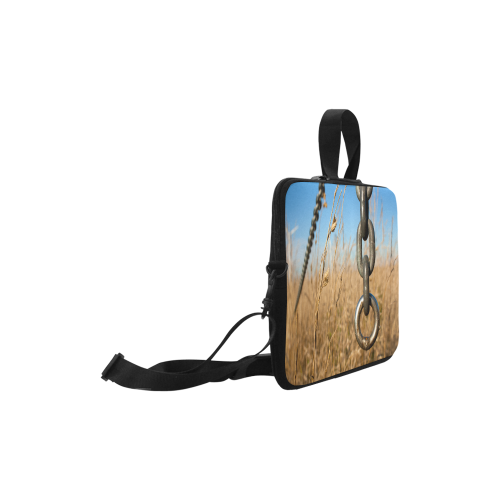 "Chain Warp Blue Sky Summer Laptop Handbags 11"""