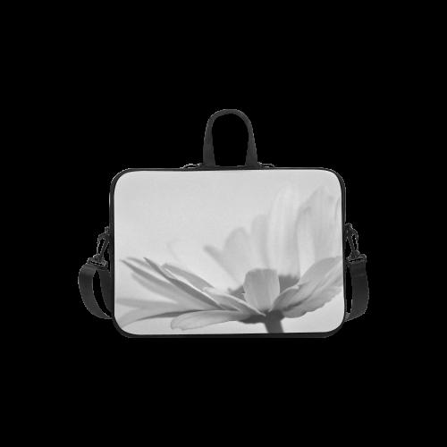 "Marguerite Daisy Summer Flower  Monochrome Laptop Handbags 11"""